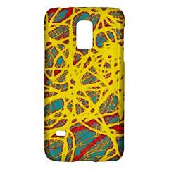Yellow neon Galaxy S5 Mini