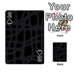 Gray Playing Cards 54 Designs