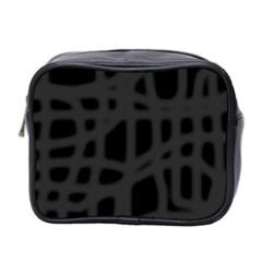 Gray Mini Toiletries Bag 2-Side