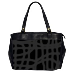 Gray Office Handbags (2 Sides)