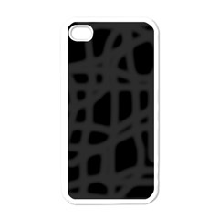 Gray Apple iPhone 4 Case (White)