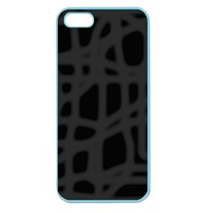 Gray Apple Seamless iPhone 5 Case (Color)