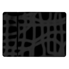 Gray Samsung Galaxy Tab 10.1  P7500 Flip Case
