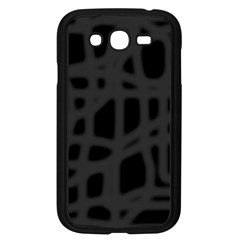 Gray Samsung Galaxy Grand DUOS I9082 Case (Black)