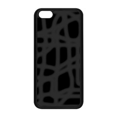 Gray Apple iPhone 5C Seamless Case (Black)