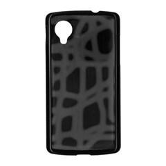 Gray Nexus 5 Case (Black)