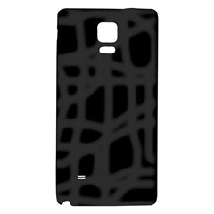 Gray Galaxy Note 4 Back Case