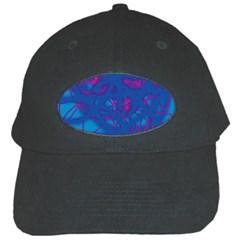 Deep blue Black Cap
