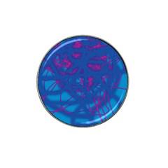 Deep blue Hat Clip Ball Marker (4 pack)