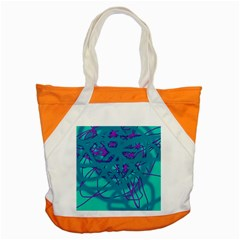 Chaos Accent Tote Bag
