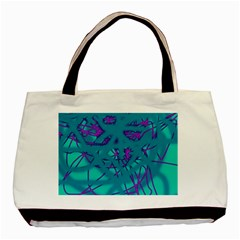 Chaos Basic Tote Bag (Two Sides)