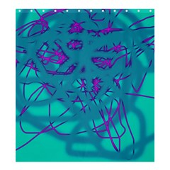 Chaos Shower Curtain 66  x 72  (Large)