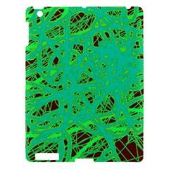 Green neon Apple iPad 3/4 Hardshell Case