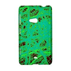 Green neon Nokia Lumia 625