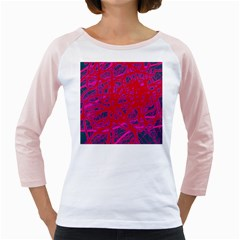 Red Neon Girly Raglans