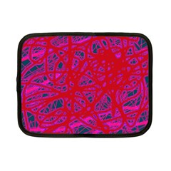 Red neon Netbook Case (Small)