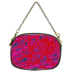 Red neon Chain Purses (Two Sides)