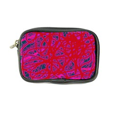 Red Neon Coin Purse