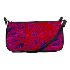 Red neon Shoulder Clutch Bags