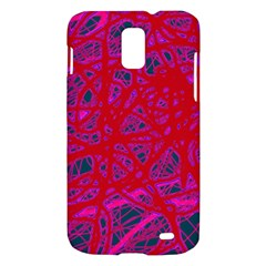 Red neon Samsung Galaxy S II Skyrocket Hardshell Case