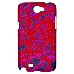 Red neon Samsung Galaxy Note 2 Hardshell Case