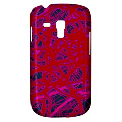 Red neon Samsung Galaxy S3 MINI I8190 Hardshell Case