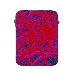 Red neon Apple iPad 2/3/4 Protective Soft Cases