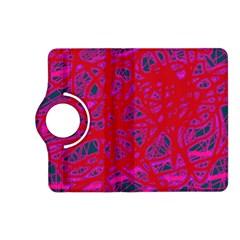 Red neon Kindle Fire HD (2013) Flip 360 Case