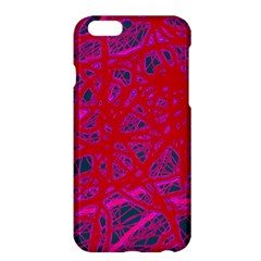 Red neon Apple iPhone 6 Plus/6S Plus Hardshell Case