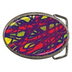 Abstract high art Belt Buckles