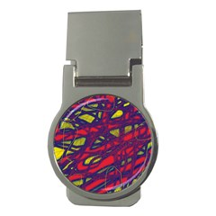 Abstract high art Money Clips (Round)