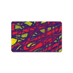 Abstract high art Magnet (Name Card)