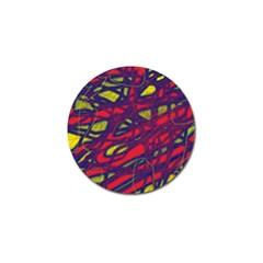 Abstract high art Golf Ball Marker (10 pack)