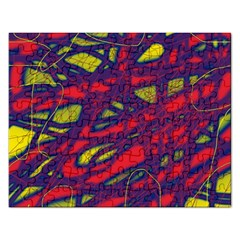 Abstract high art Rectangular Jigsaw Puzzl