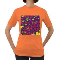 Abstract high art Women s Dark T-Shirt
