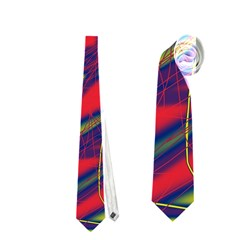Abstract high art Neckties (One Side)