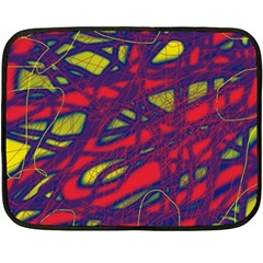 Abstract high art Fleece Blanket (Mini)