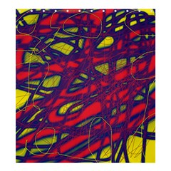 Abstract high art Shower Curtain 66  x 72  (Large)