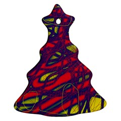 Abstract high art Christmas Tree Ornament (2 Sides)