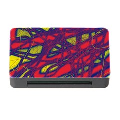 Abstract high art Memory Card Reader with CF
