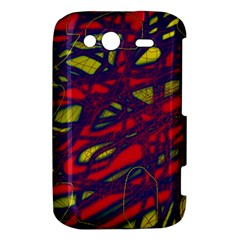 Abstract high art HTC Wildfire S A510e Hardshell Case