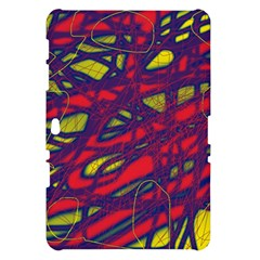 Abstract high art Samsung Galaxy Tab 10.1  P7500 Hardshell Case