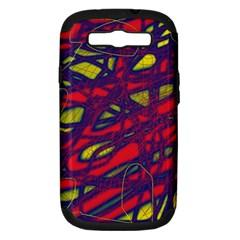 Abstract high art Samsung Galaxy S III Hardshell Case (PC+Silicone)