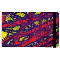 Abstract high art Apple iPad 3/4 Flip Case