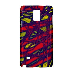 Abstract high art Samsung Galaxy Note 4 Hardshell Case