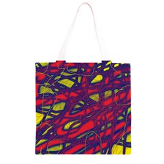 Abstract high art Grocery Light Tote Bag