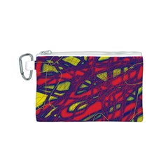 Abstract high art Canvas Cosmetic Bag (S)