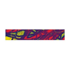 Abstract high art Flano Scarf (Mini)