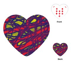 Abstract high art Playing Cards (Heart)