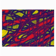 Abstract high art Large Glasses Cloth